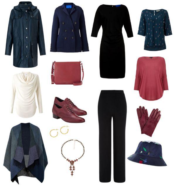 Capsule wardrobe for autumn trip to London