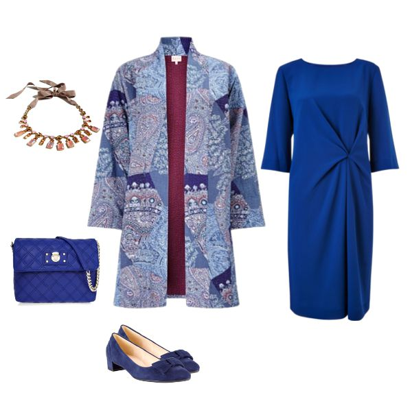 How to adapt a special occasion coat with a dress