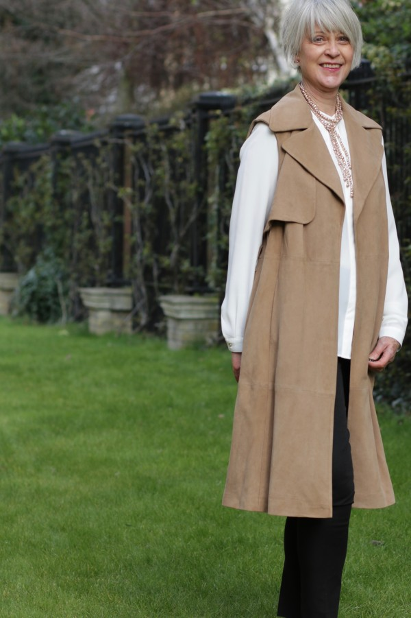 M&S Suede coat - S/S trends