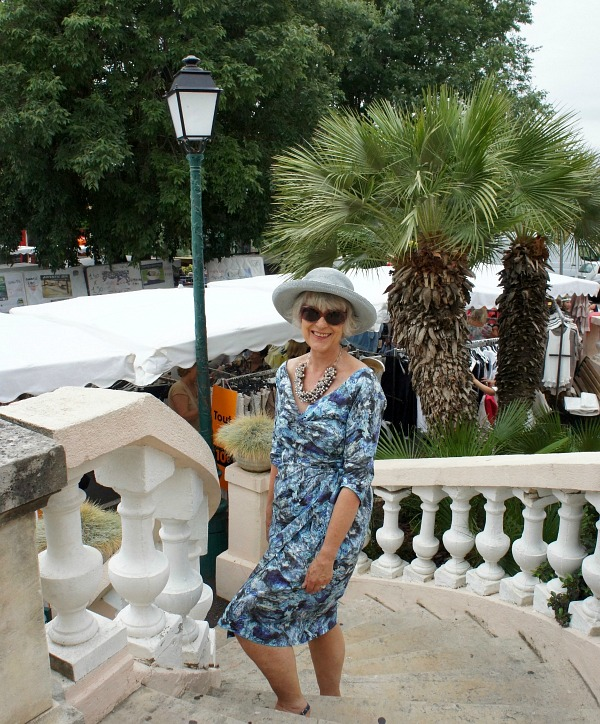 How I accessorise a summer dress