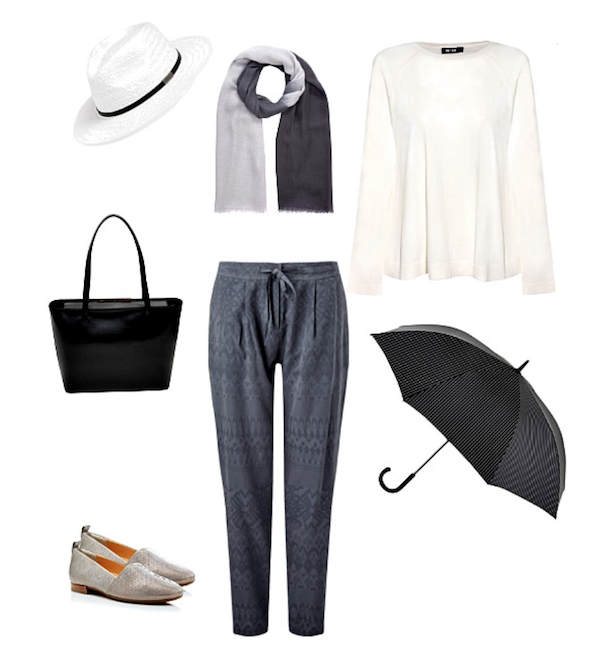 How to dress for a cloudy day in Londo