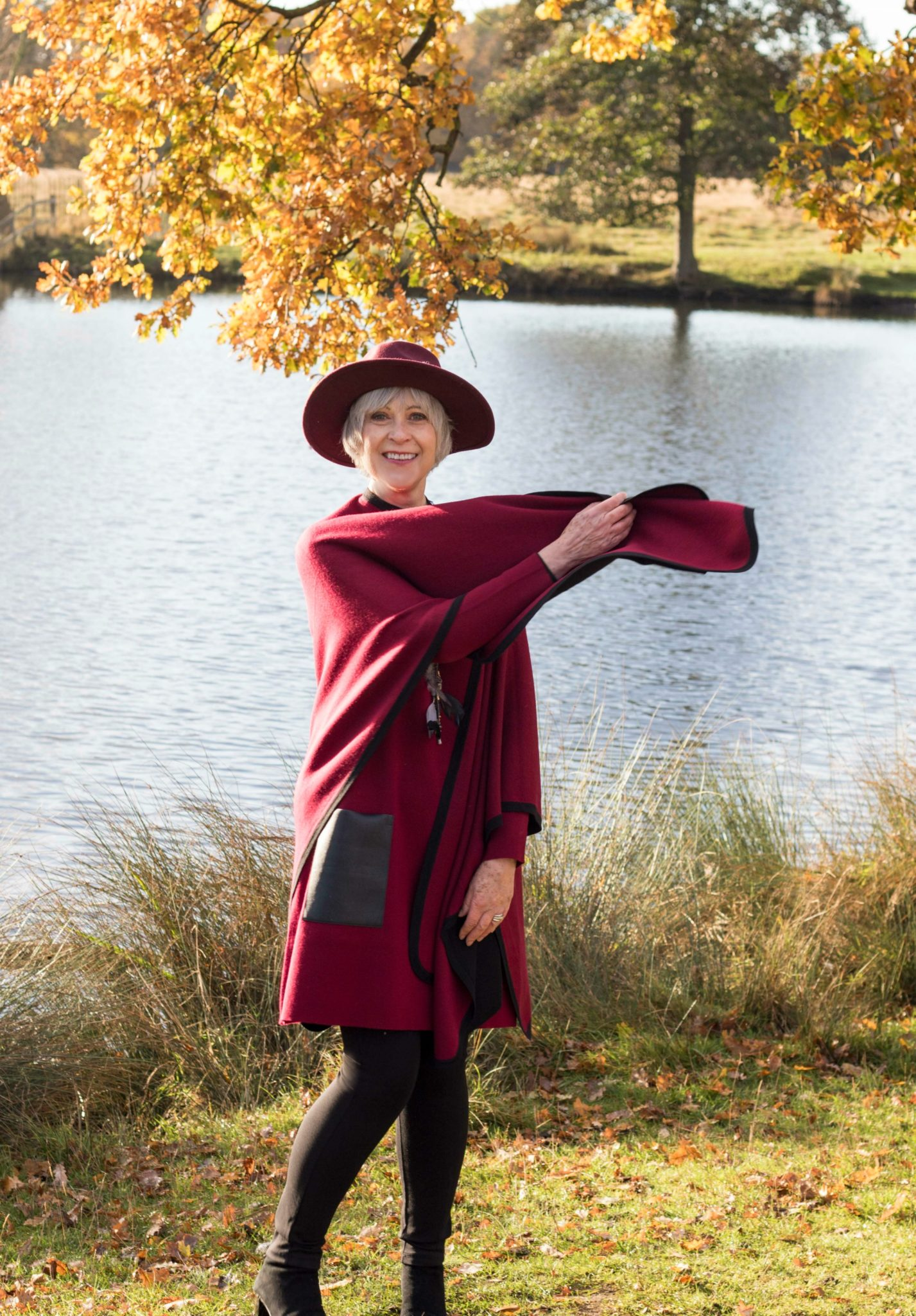 burgundy-cape-and-dress