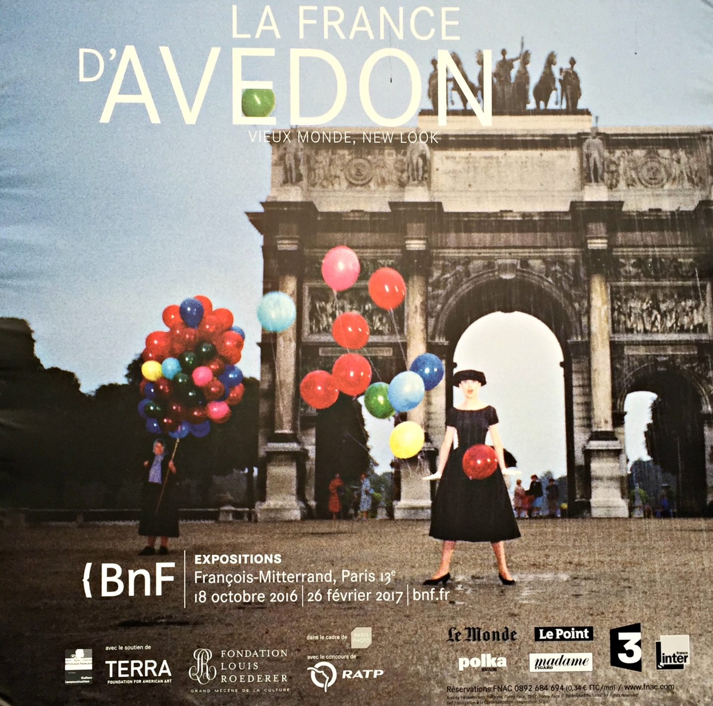 Avedon exhibition paris for Overnight stay in paris