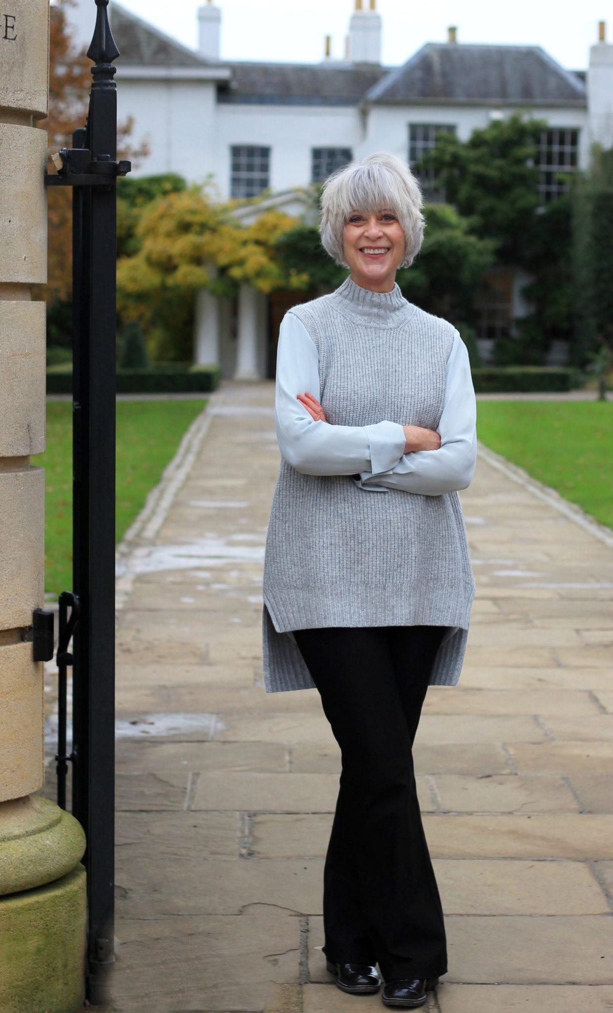 How I wear grey with grey hair