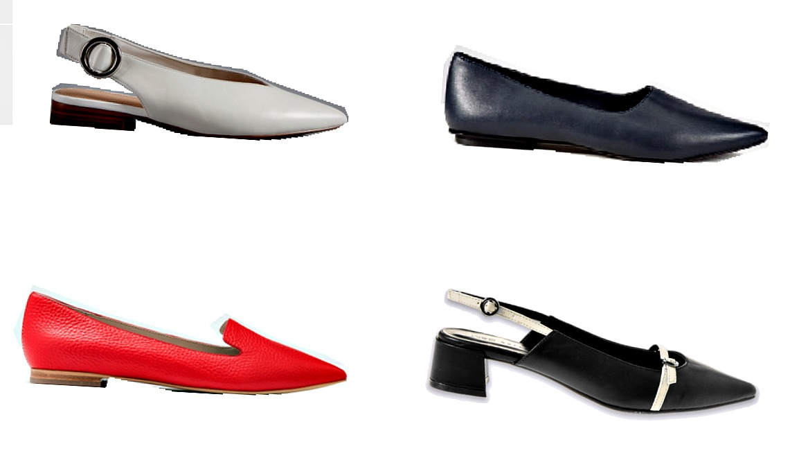 Pointy toe flat shoes for Spring