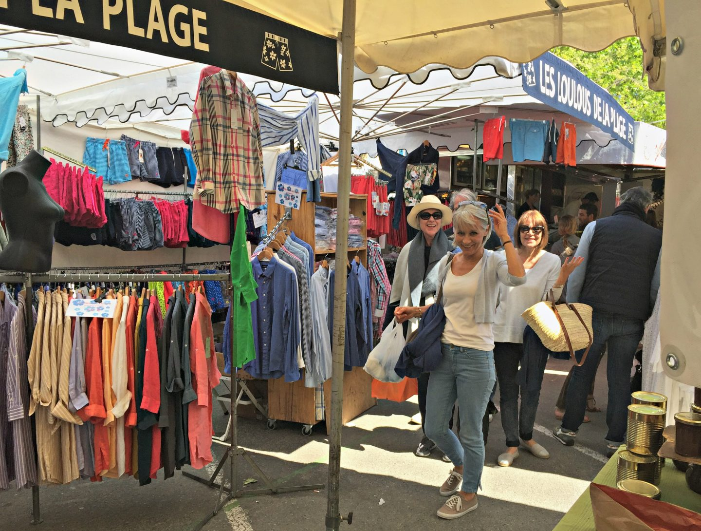 Visit to St Tropez market