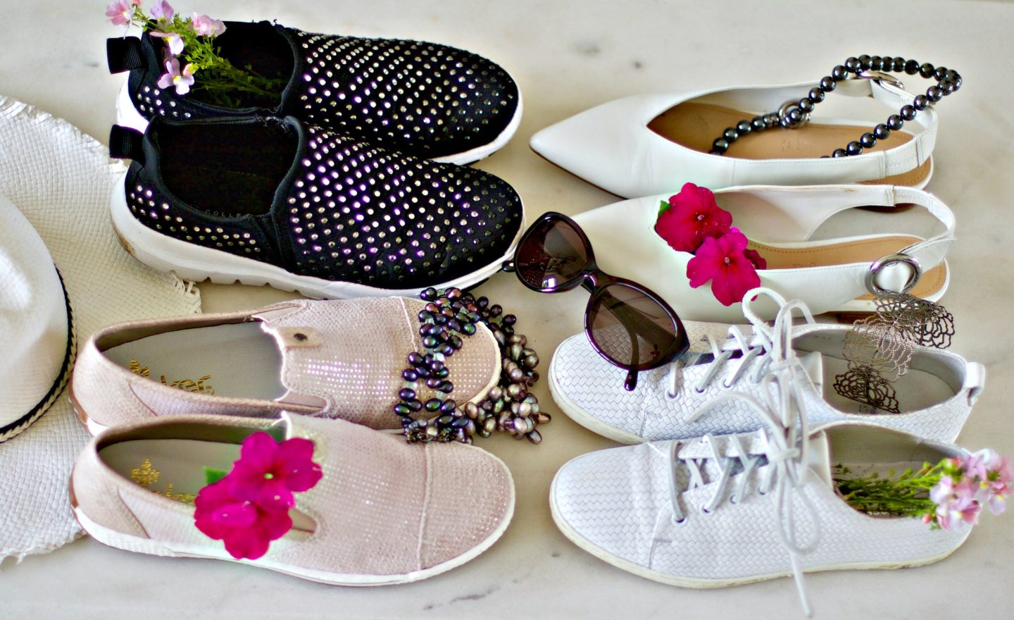 Comfortable summer shoes