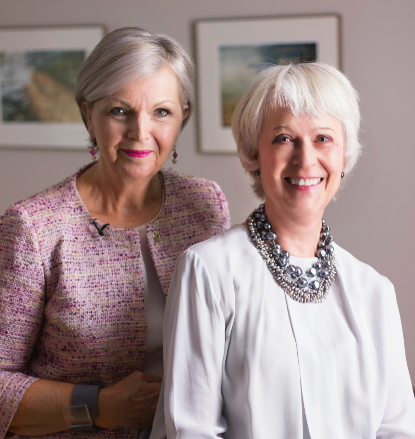 Fashion and makeup for older women
