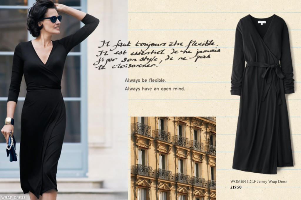 Ines in Uniglo dress