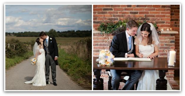 Jonny & Emma wedding collage