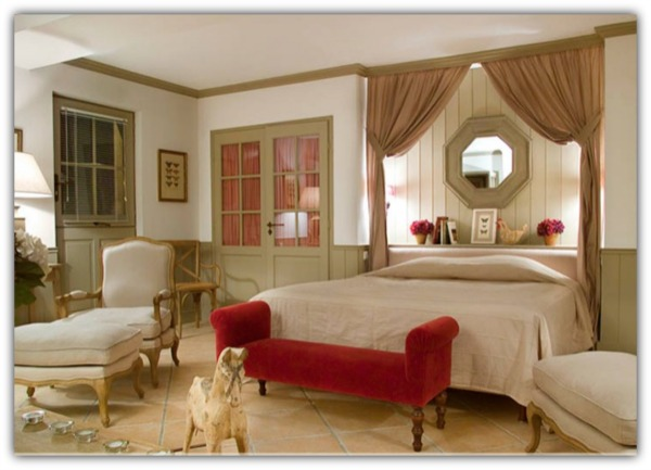Chateau bedroom