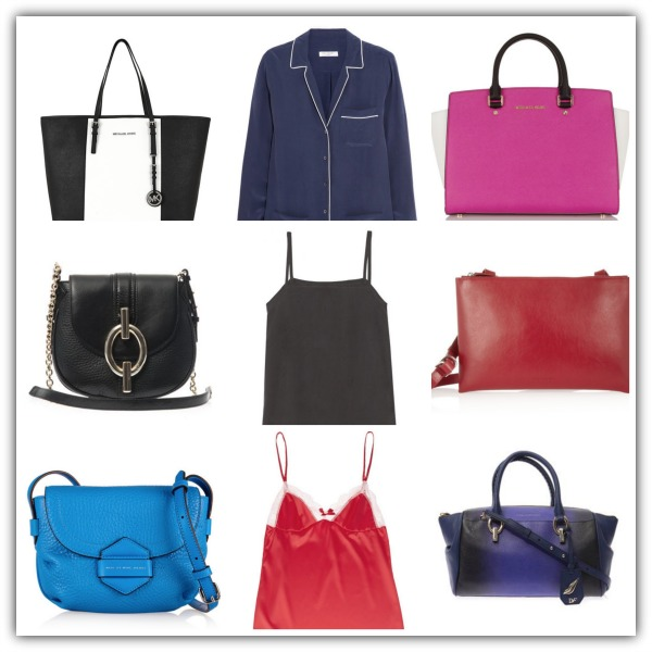Handbags and lingerie