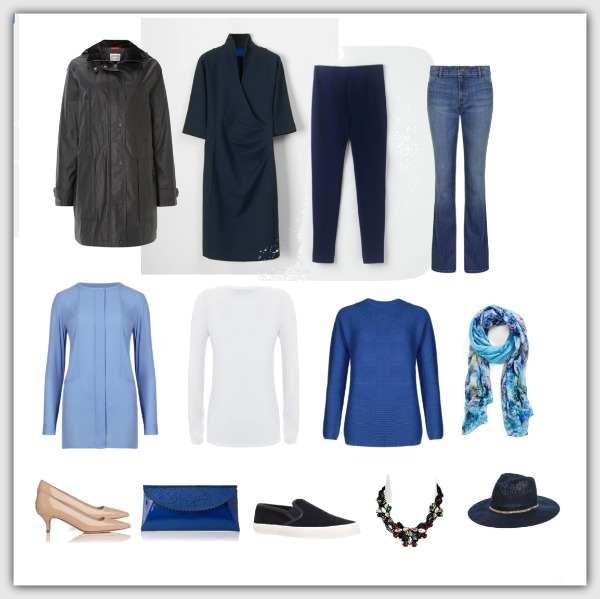Fashion advice for women 50+ Capsule wardrobe for week-end break