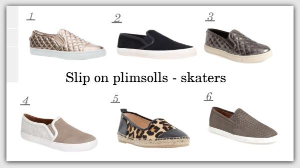 Slip on plimsolls - Skaters