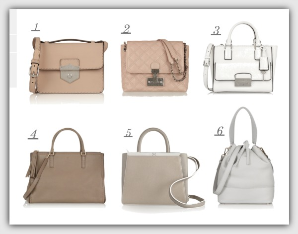 Fashion advice for 40+ women. Spring handbags