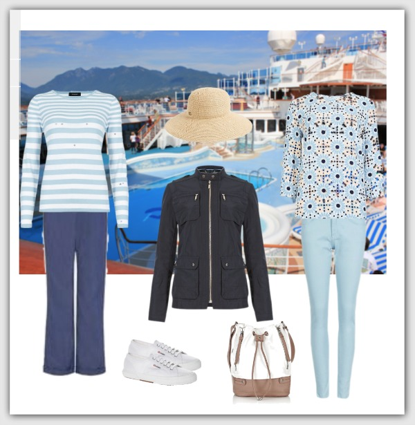 Fashion advice for women over 40 cruise capsule wardrobe