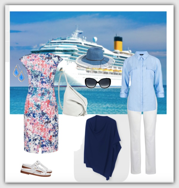 fashion advice for women 40+ cruise capsule wardrobe