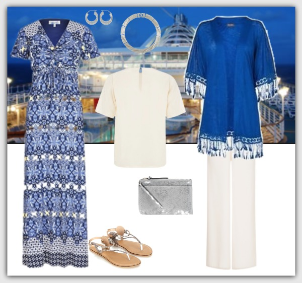 Fashion advice for women 40+ cruise evening wardrobe