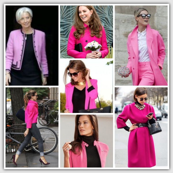 Fashion for women 40+ Pink jackets 2015