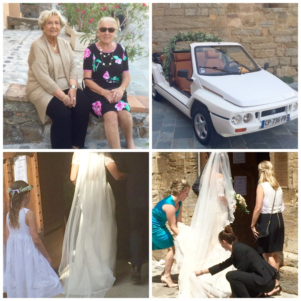 French wedding in our local village