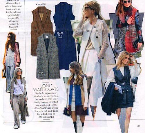 Sleeveless coats for Autumn 2015