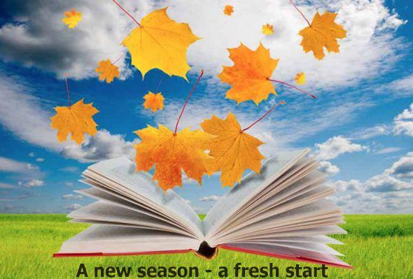 A new season - a fresh start