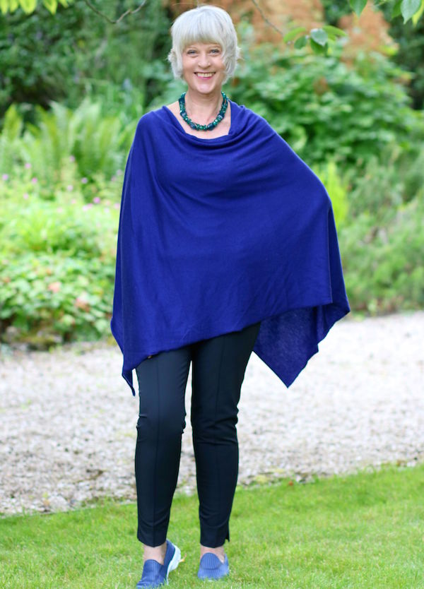 Capes/ponchos continue on trend for 2015