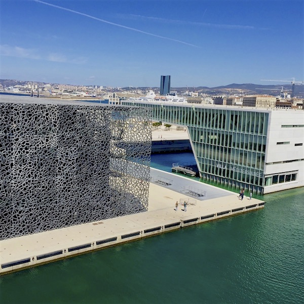 Exterior of Mucem Marseille