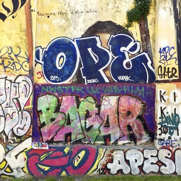 Graffitti in Marseille