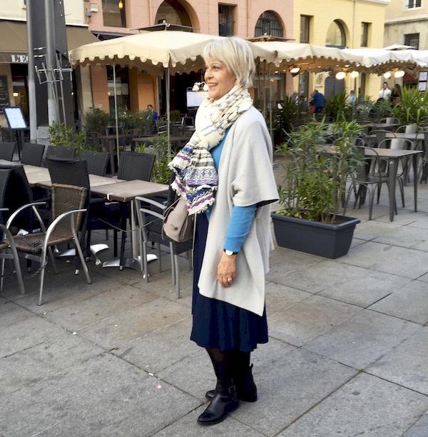 Me in restaurant square - Marseille