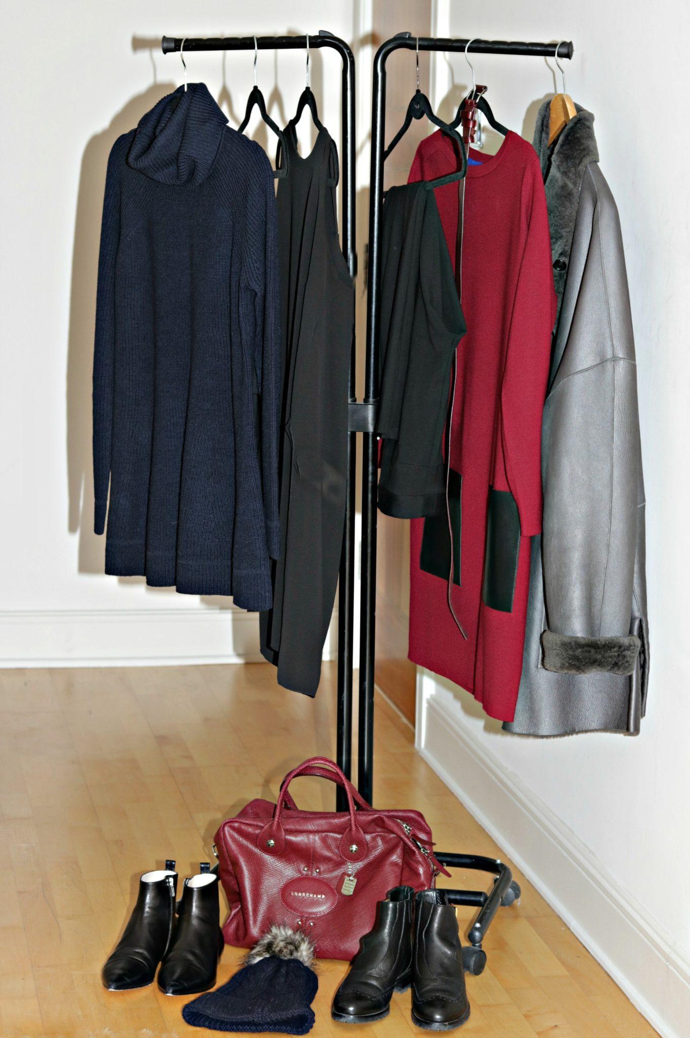 Capsule wardrobe for Paris
