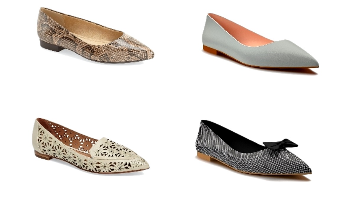 Pointy toe flat shoes - Chic at any age