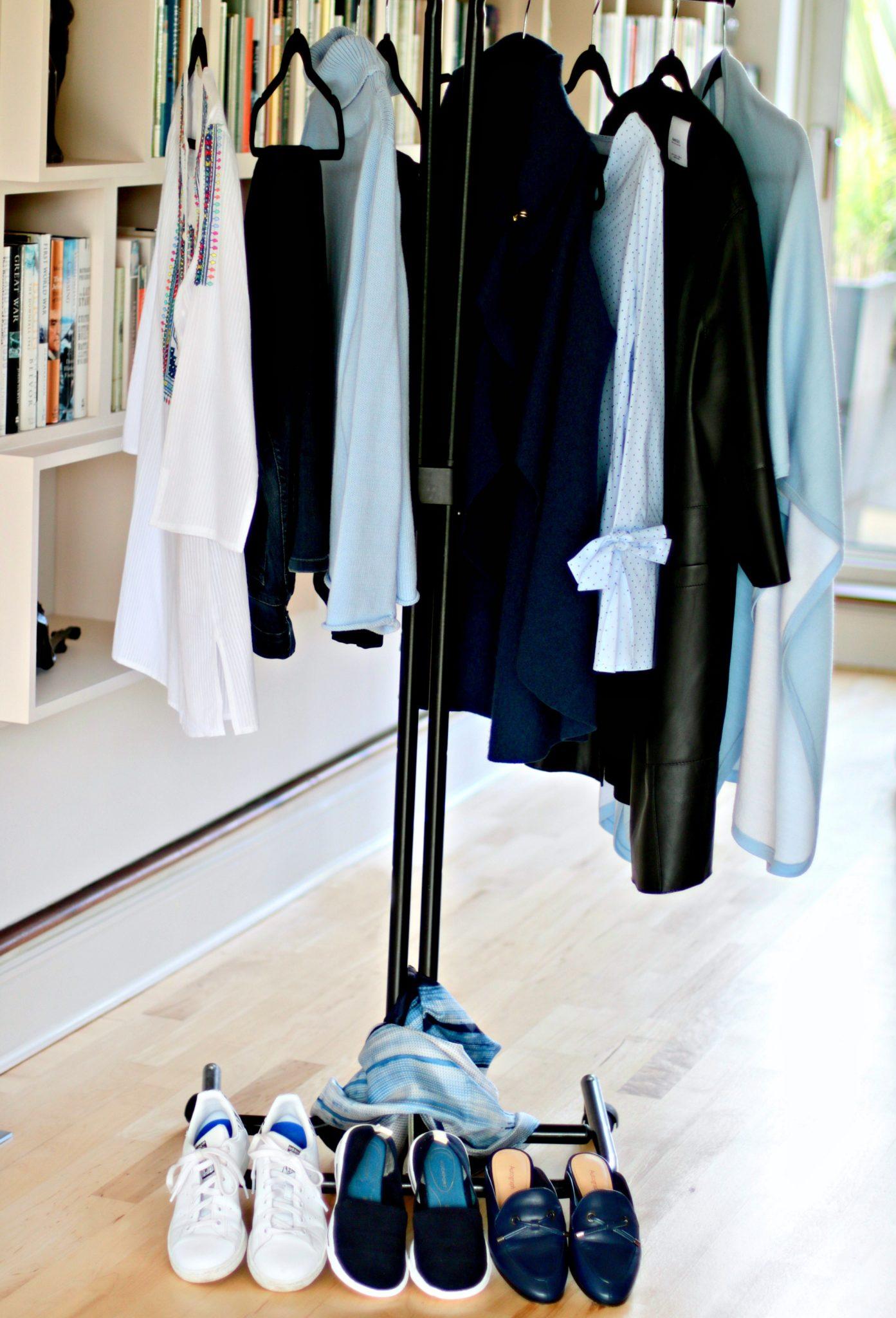 Capsule spring holiday wardrobe
