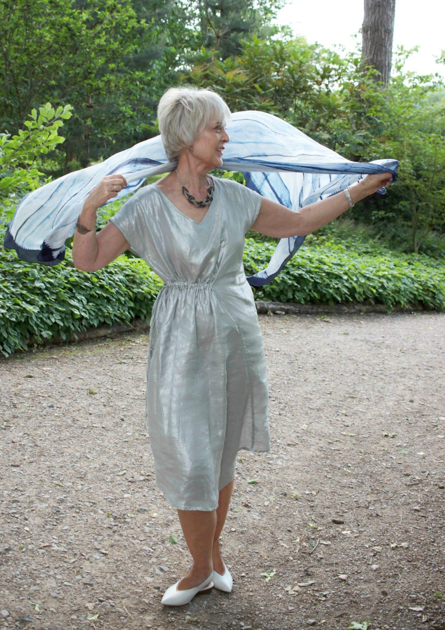 Sparkling summer dress