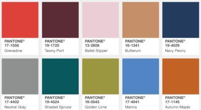Pantone colours - New York