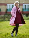 Bright coloured coats for autumn