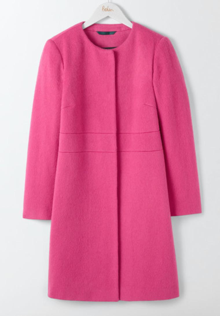 Pink Boden coat