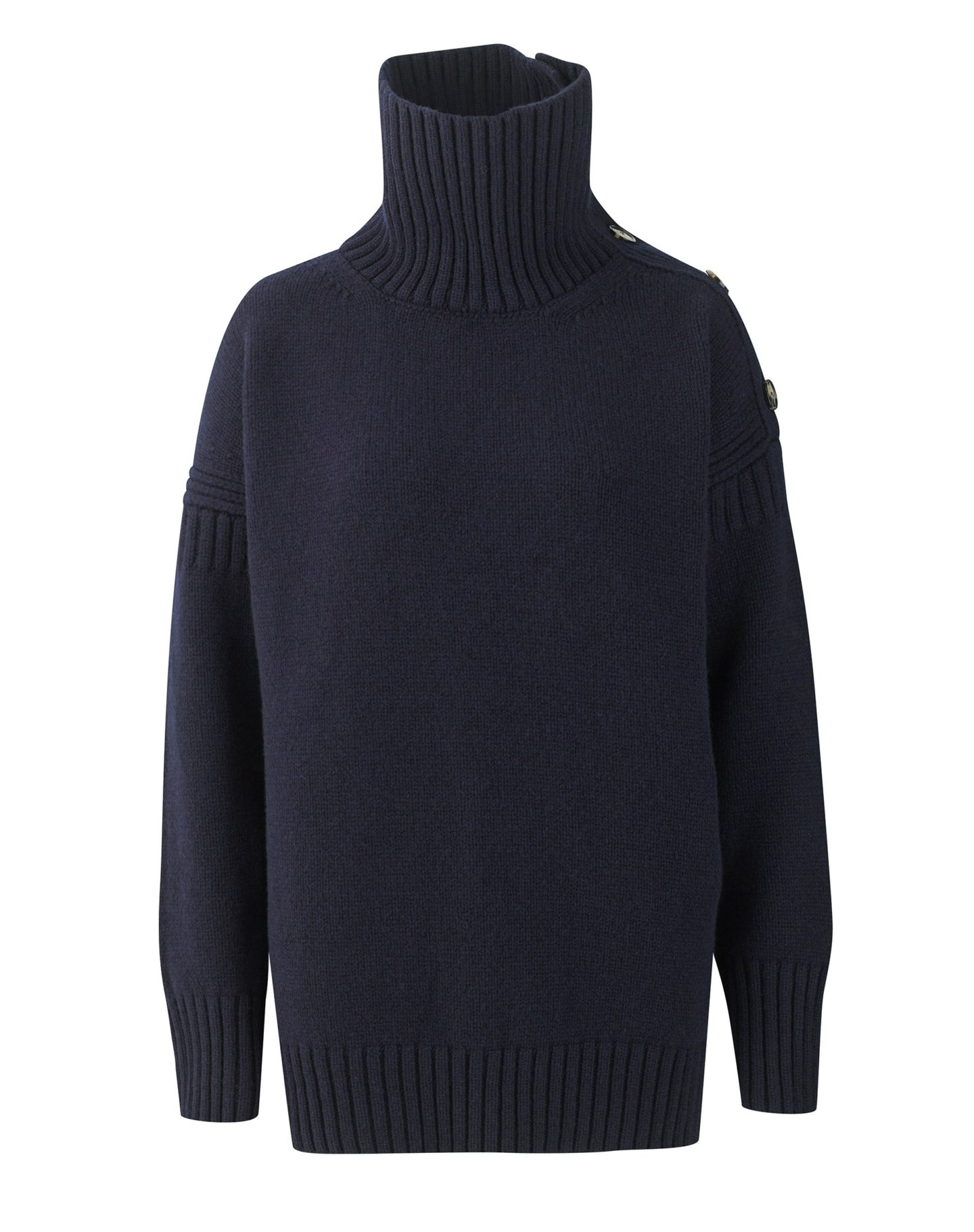 Navy Guernsey sweater