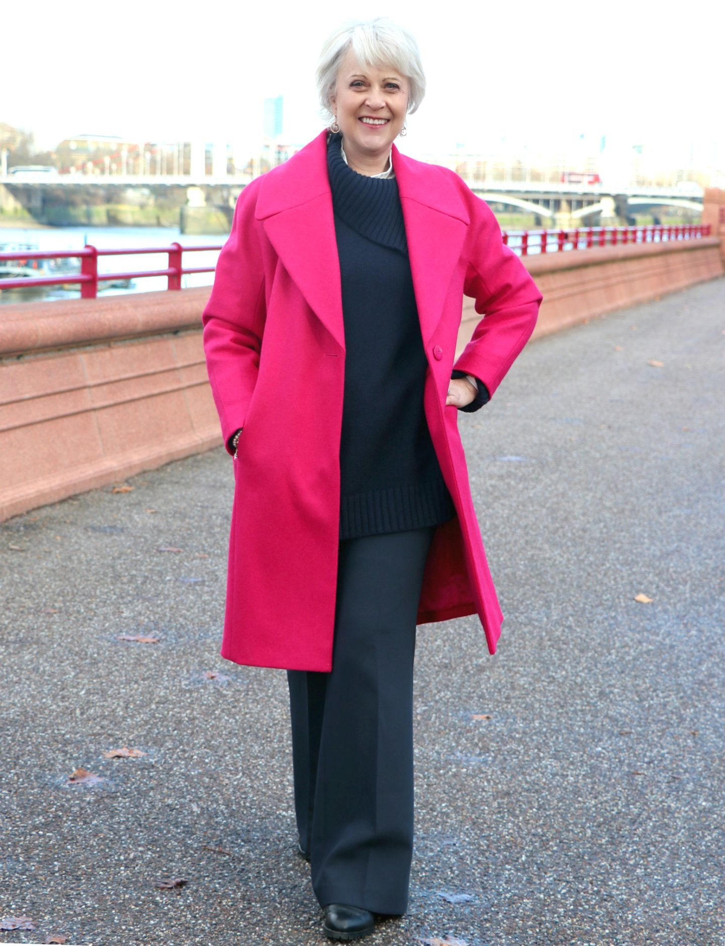 Lift your mood with a bright coloured coat