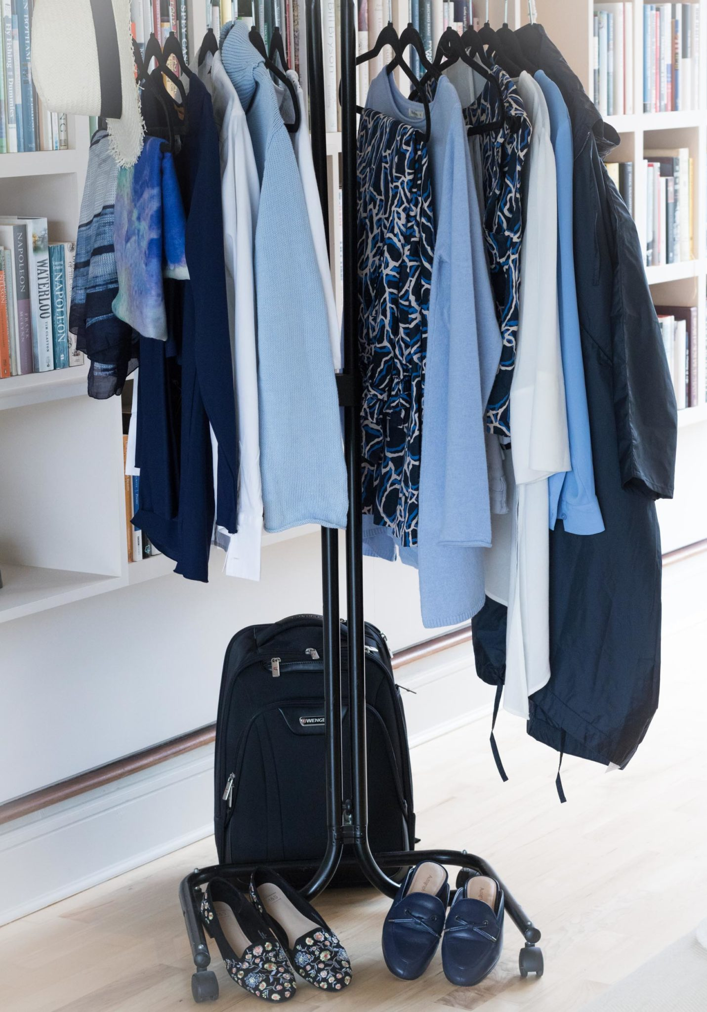 Capsule wardrobe for a trip to France