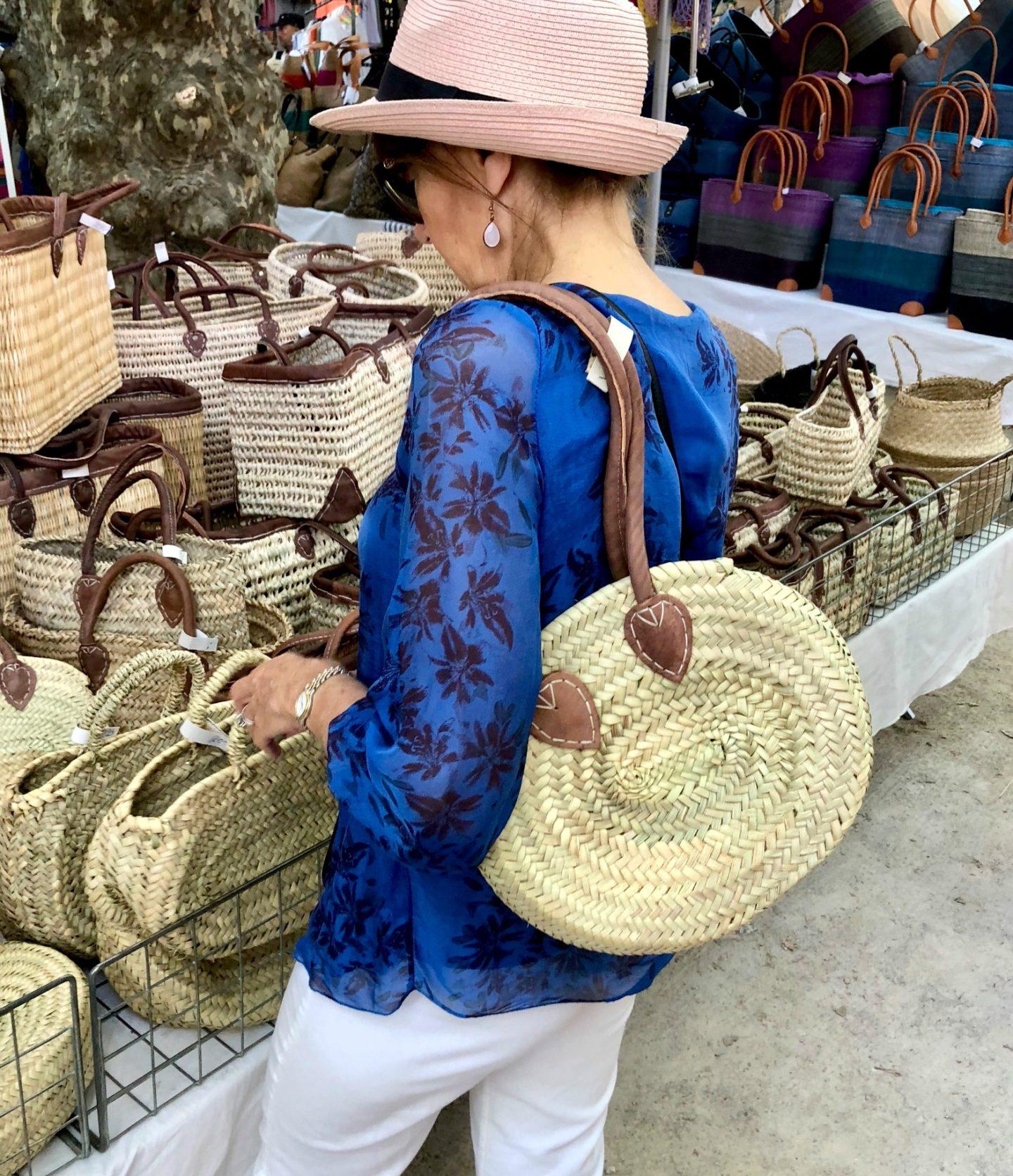 Summer trip to St.Tropez market