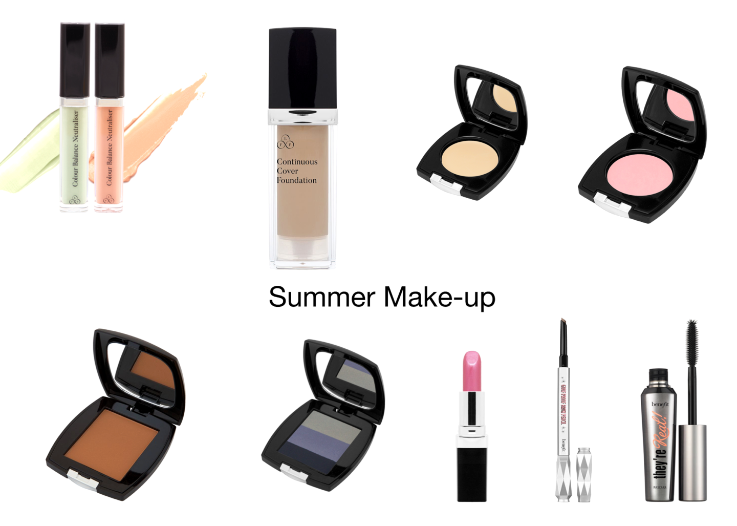 My summer Make-up routine