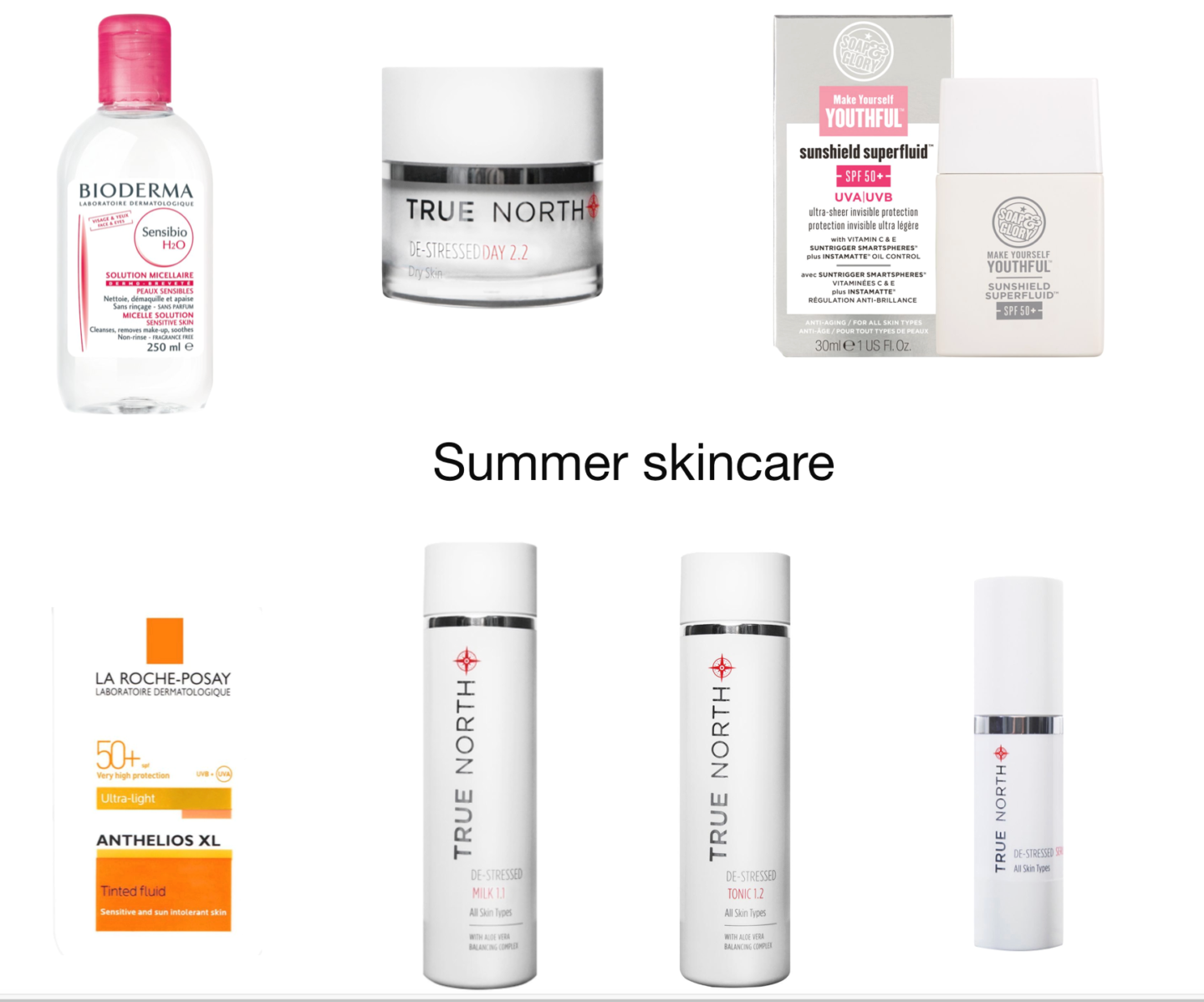My summer skincare routine