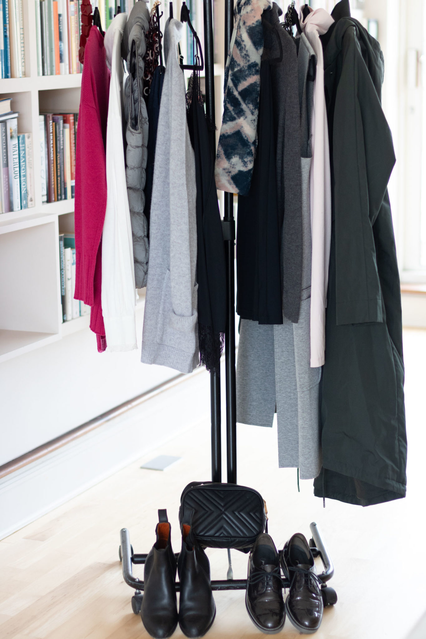 Capsule wardrobe for South of France in October