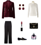 Simple no fuss outfits for the party season