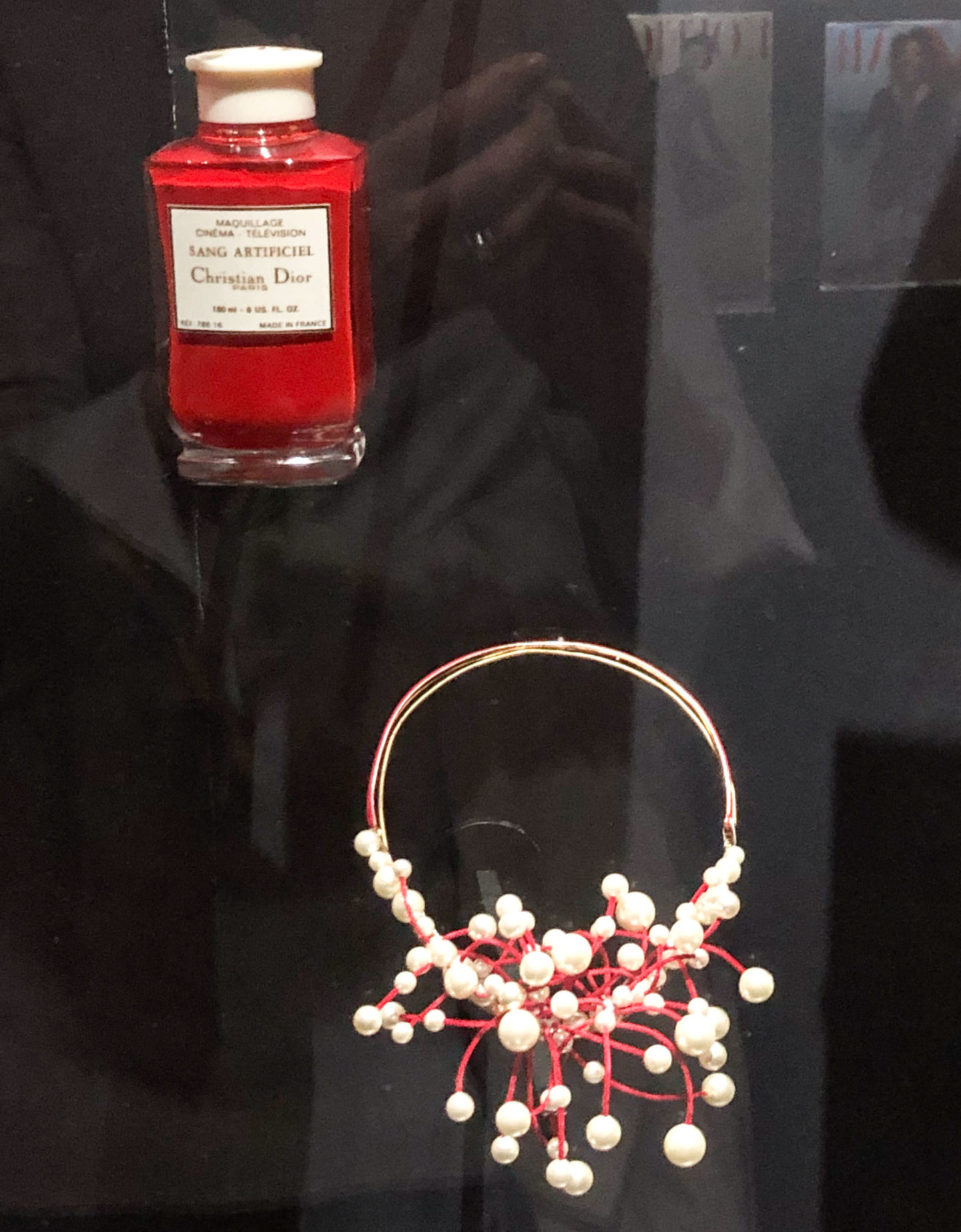 Christian Dior nail polish and costume jewellery