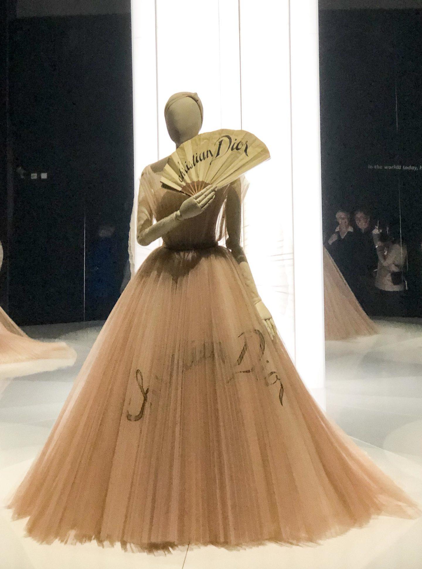 Christian Dior ballgown