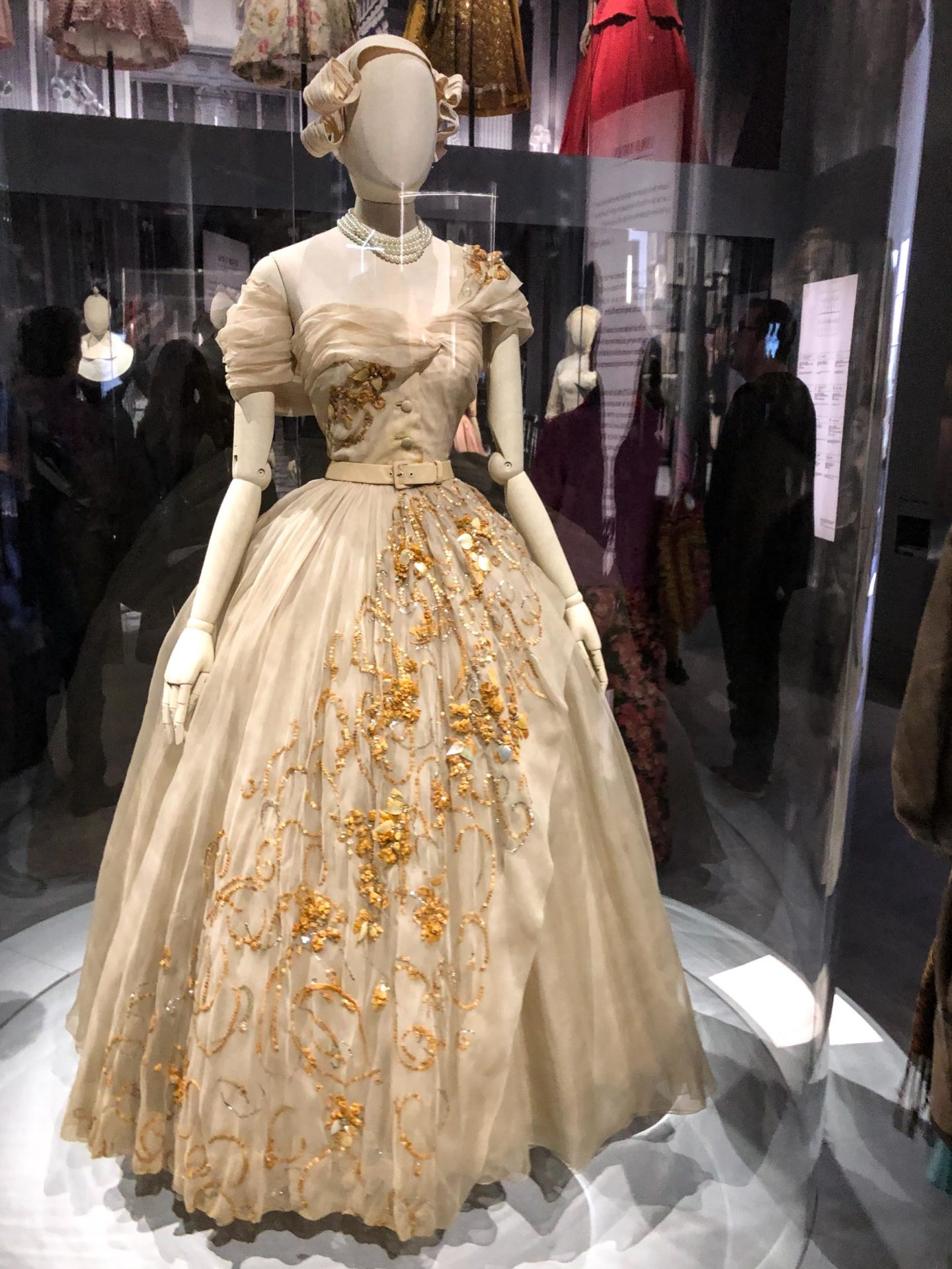 Princess Margaret's ballgown by Christian Dior