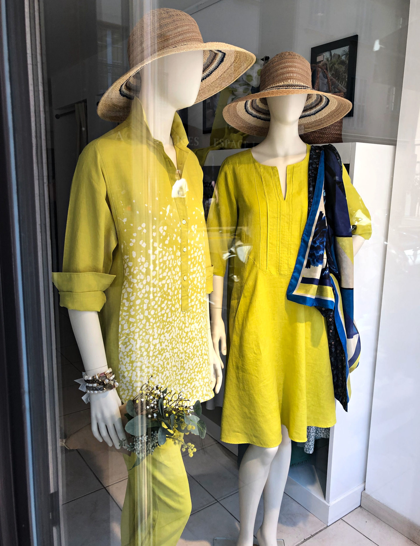 Yellow summer tops