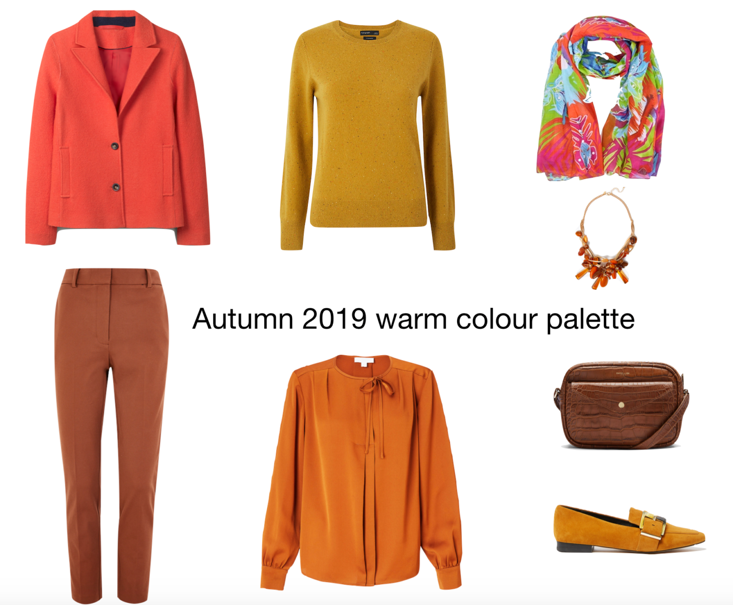Autumn 2019 colour palette